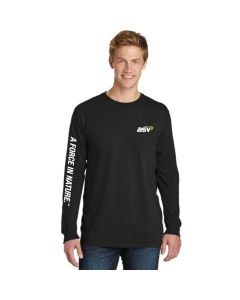 Black A Force In Nature T-shirt