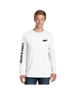 White A Force In Nature T-shirt
